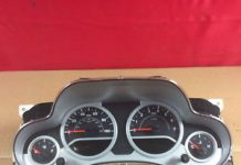 passenger vehicle instrument cluster