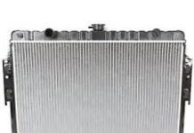 passenger vehicle radiator